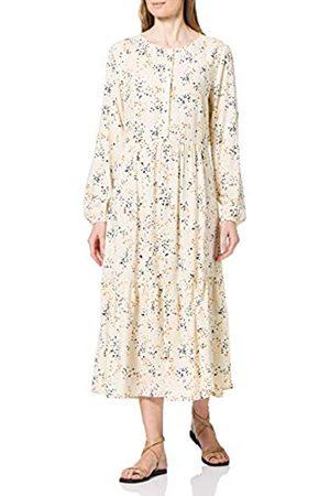 TOM TAILOR Damen 1024853 Printed Kleid, 26429-Creme Dot Print