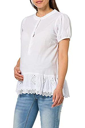 Mama Licious Damen Shirts - Mama Licious Female Stilloberteil MLGRAZIE SSnow White