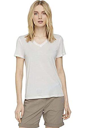 TOM TAILOR Damen 1025781 Basic V-Neck T-Shirt, 10315-Whisper White