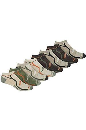 Saucony Men's Performance Comfort Fit Heel Tab Athletic Socks