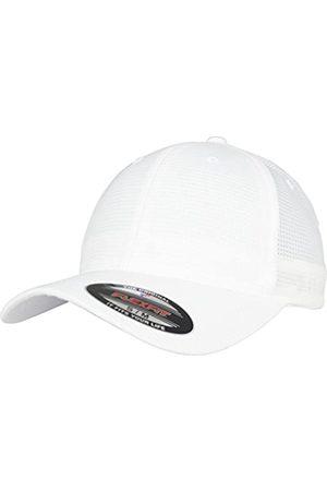 Flexfit Unisex Hydro-Grid Stretch Cap Kape, White