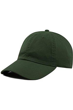 The Hat Depot Unisex Baseballkappe, blanko, gewaschen, niedriges Profil
