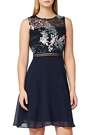 TRUTH & FABLE Amazon-Marke: Damen Mini A-Linien-Kleid aus Spitze, 34