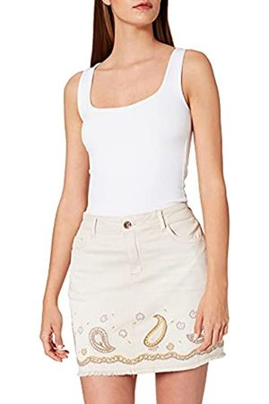 Desigual Damen Jeansröcke - Womens FAL_Billi Jeans Skirt