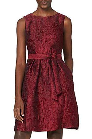 Apart APART Kleid, Cocktailkleid, elegant, aus edlem Jacquard- , mit Bindegürtel