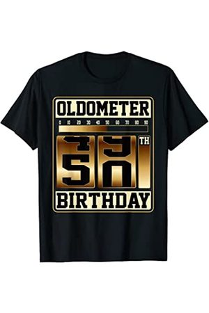 Funny Oldometer 50th Birthday Gift Tees Herren Lange Ärmel - Lustiges 50. Geburtstag Oldometer 50 Langarmhemd