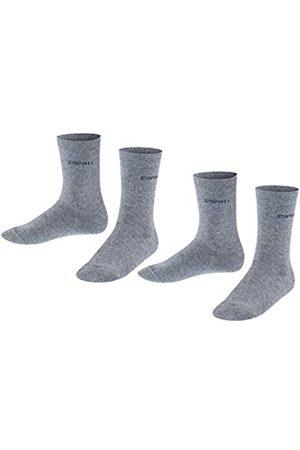 Esprit Unisex Kinder Socken Foot Logo 2-Pack, Baumwolle, 2er Pack