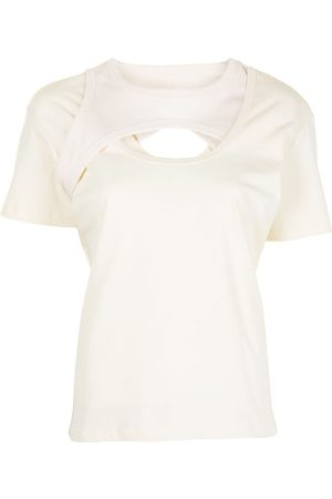 DION LEE T-Shirt im Layering-Look