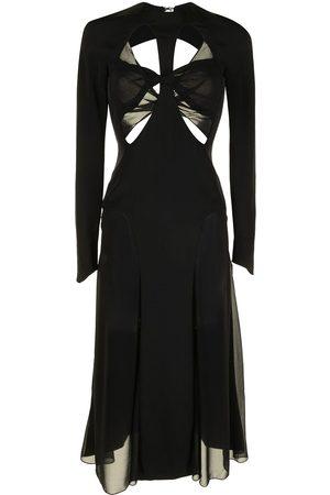 DION LEE Godet-Kleid mit Schlitzen