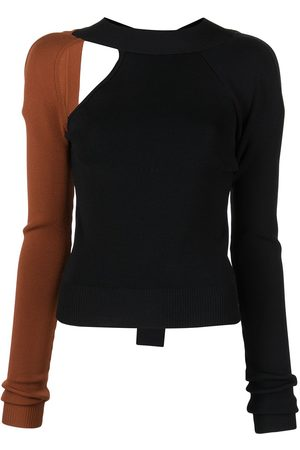 MONSE Zweifarbiger Pullover mit Cut-Out