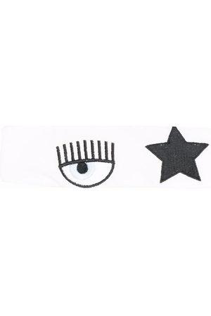 Chiara Ferragni Stirnband mit Stickerei