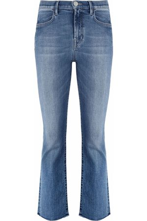 Pinko Halbhohe Cropped-Jeans