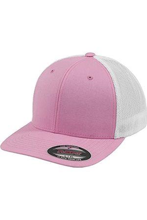 Flexfit Mesh Trucker Cap 2-Tone - Unisex Baseballcap für Damen und Herren, Farbe Pink/White