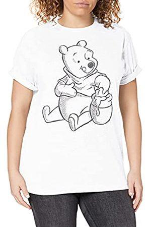 Disney Damen Winnie The Pooh-Sketch T-Shirt