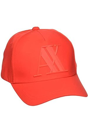 Armani Men's 3D Rubber AX Tonal Logo Hat
