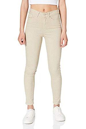 Springfield Damen Slim & Skinny Hosen - Pantalón Skinny High Rise Eco Dye