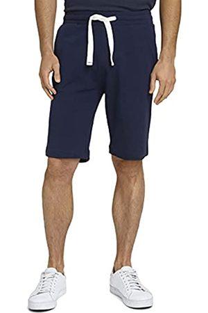 TOM TAILOR Herren 1026023 Sweatpants Bermuda Shorts, 10932-Sailor Blue