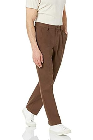 Amazon Classic-Fit Wrinkle-Resistant Pleated Chino Pant Anzughose