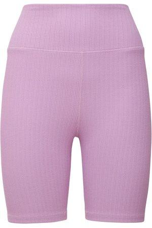 "The Upside Damen Hosen & Jeans - Midihose Aus Jacquard ""lilac Dance"""