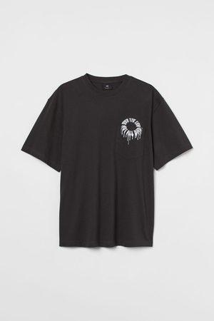 H&M Herren Shirts - T-Shirt Relaxed Fit