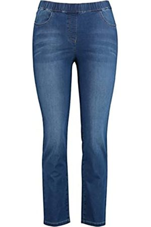 Samoon Damen Jeggings Stretch-Jeans Lucy Slim Fit 46