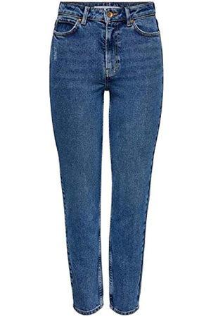 JDY Damen KAJA Life HI STRGHT ANK MB DNM NOOS Jeans