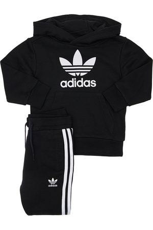 ADIDAS ORIGINALS Sweatshirt Und Trainingshose Aus Baumwollmischung