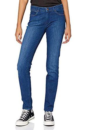 Wrangler Damen Slim Jeans, (Blue Mountain 22p)