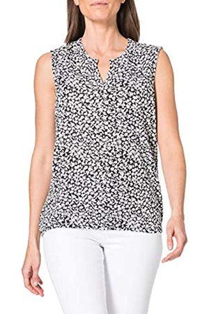 Blue Seven Damen Alloverdruck Top, Henley T-Shirt