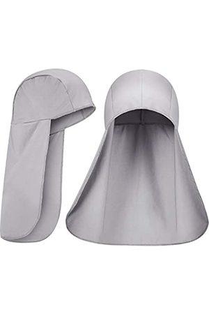 SATINIOR 2 Packungen kühlende Totenkopf-Mütze, elastischer Sonnenschutz