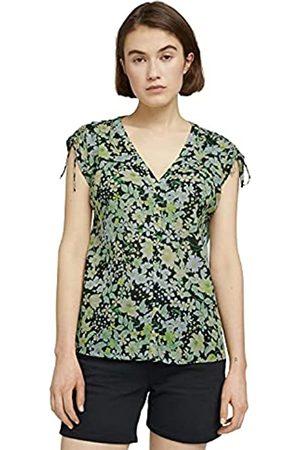 TOM TAILOR Damen 1025711 Flower Bluse, 26824-Flower Print