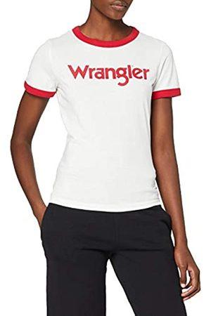 Wrangler Damen Ringer Tee T-Shirt