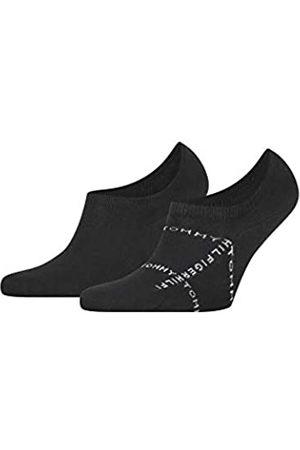 Tommy Hilfiger Mens Grid Men's Footie (2 Pack) Socks