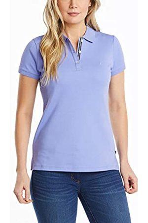 Nautica Damen 3-Button Short Sleeve Breathable 100% Cotton Polo Shirt Poloshirt