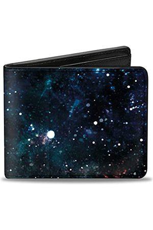 Buckle-Down Unisex-Erwachsene Bifold Wallet Galaxy Zweifalten-Geldbörse