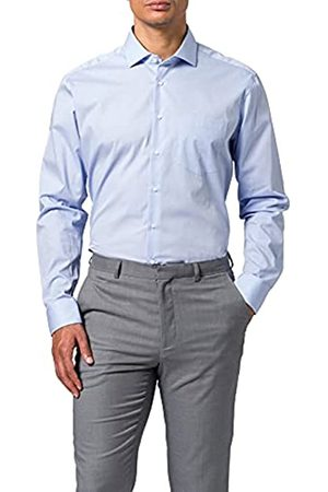 Seidensticker Herren Regular Fit Langarm Popeline Hemd