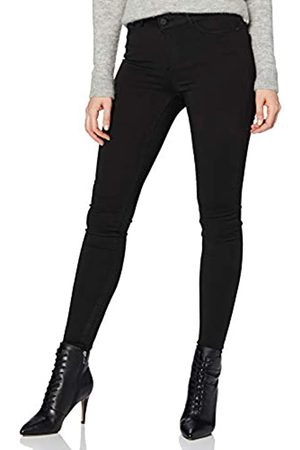 Noisy May Female Skinny Fit Jeans NMLUCY Normal Waist 3232Black