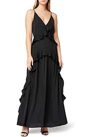 TRUTH & FABLE Damen Partykleider - Amazon-Marke: Damen Partykleid Ruffle Cami Maxi Dress, 44