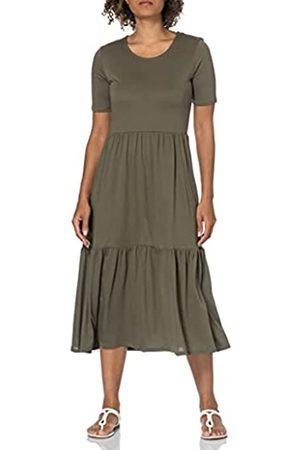 JDY Damen Freizeitkleider - Damen DALILA Frosty S/S Dress JRS NOOS Kleid