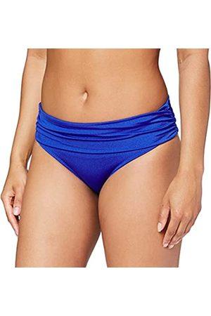 Pour Moi Damen Azure Fold Over Ruched Brief Bikinihose
