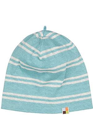 loud + proud Unisex Baby Streifen mit Leinen, GOTS Zertifiziert Beanie-Mütze