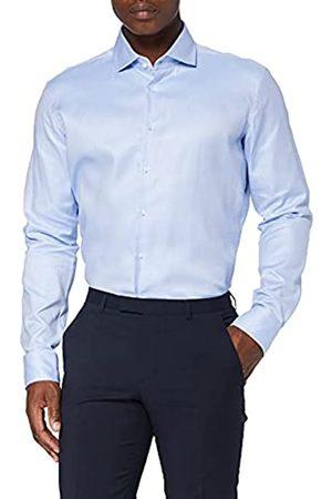 Seidensticker Herren Business Hemd – Einfarbiges, elegantes Hemd mit Kent-Kragen und hohem Tragekomfort – Passform X-Slim Fit – Langarm – 100% Baumwolle