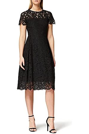 TRUTH & FABLE Amazon-Marke: Damen Midi A-Linien-Kleid aus Spitze, 36
