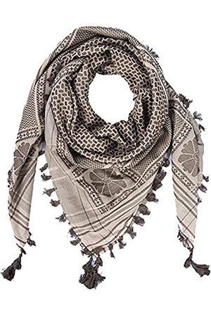 Merewill Shemagh Tactical Desert Wrap Keffiyeh Kopf Hals arabischer Schal für Herren 124,5 x 124