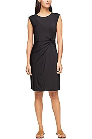 s.Oliver Damen Kleid aus Viskosestretch black 44