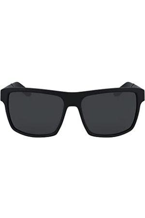 Dragon Herren Space LL Sonnenbrille, Mattschwarz/Luma-Linse Smoke