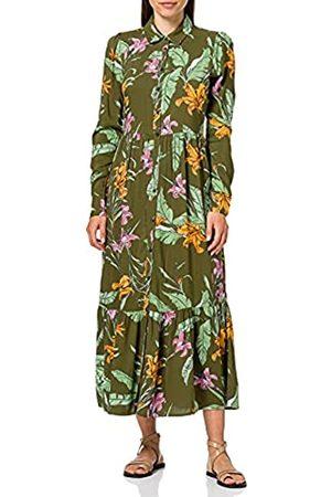 ONLY Damen ONLPALM Life L/S MIDI Dress WVN Kleid