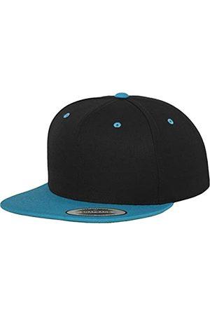 Flexfit Yupoong Unisex Kappe Classic Snapback 2-Tone, zweifarbige blanko Cap mit geradem Schirm, One Size Einheitsgröße für Männer und Frauen