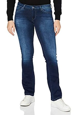 Pepe Jeans Damen Cropped - Damen Piccadilly Jeans