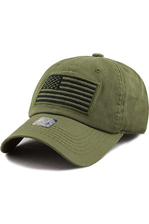 The Hat Depot Tactical Operator USA Flag Low Profile Baseball Army Military Cap - - Einheitsgröße